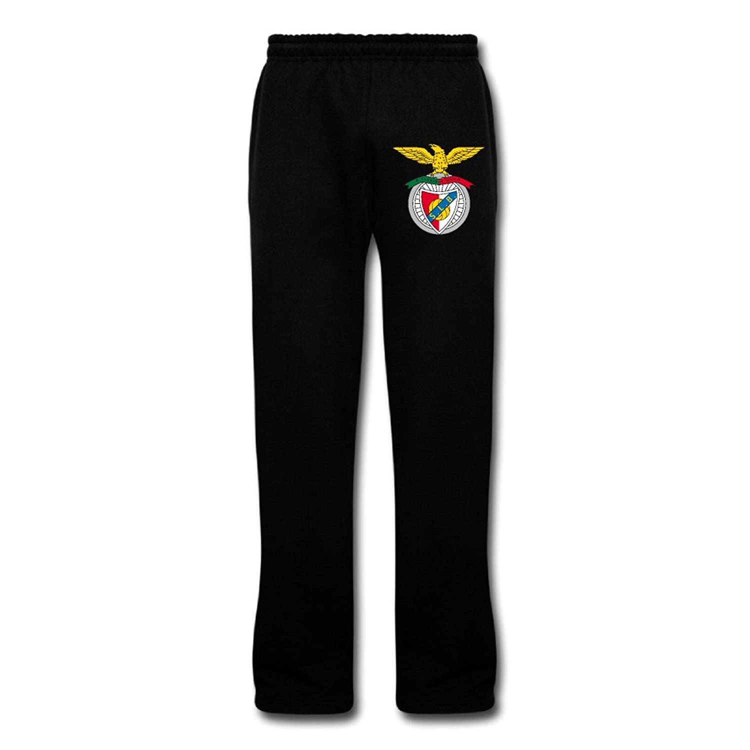 DAMEI Men's Benfica Eagle Football Team Sports Sweatpants Cotton Pants