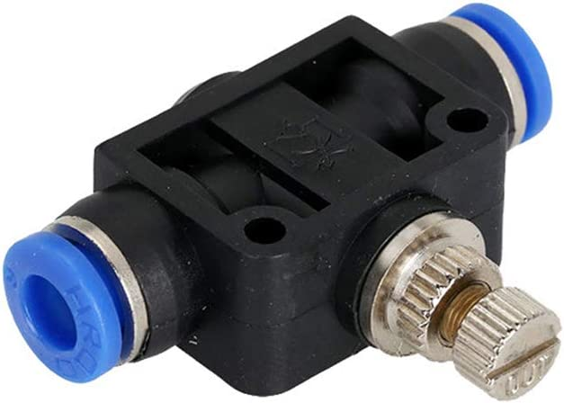 1 lamta1k PA 4//6//8//10//12mm Throttle Valve Air Flow Speed irrigation accessories Control Hose Pneumatic Connector