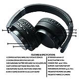 Gomez Wireless Bluetooth Headphone Music Headset Game Earphone with Mic
