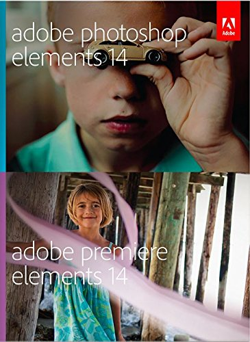 Adobe Photoshop Elements 14 & Premiere Elements 14 Multi-Platform 14 [Old Version] (Photo Cd Pro)