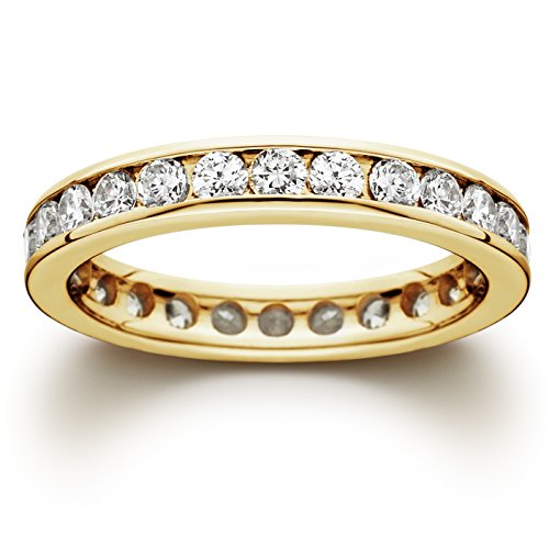 1-12ct-Channel-Set-Diamond-Eternity-Ring-14K-Yellow-Gold
