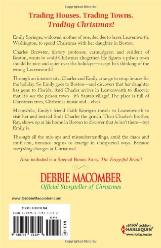 trading christmas the forgetful bride debbie macomber 9780778313342 amazoncom books - Debbie Macomber Trading Christmas