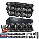 Best 16 Channel Dvrs - SANNCE Security Camera System with 16 Channel 1080N Review