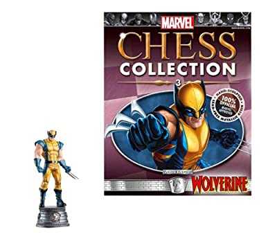 Marvel Chess Figure & Magazine #3: Wolverine White Knight