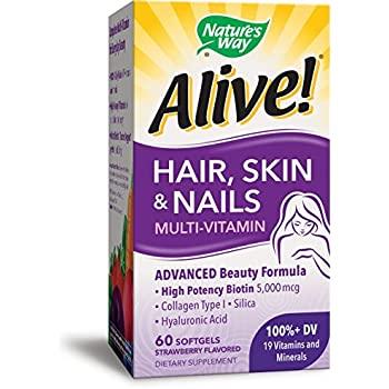 Nature S Way Alive Hair Skin And Nails