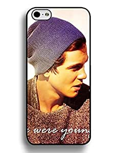 Christmas Gifts Iphone 6 Plus 5.5 Inch Case, Amazing Logan Lerman Series Slim Fit Clear Back Cover for Iphone 6 Plus (5.5 Inch), [Scratch Resistant] for Girls 1414749M763816823