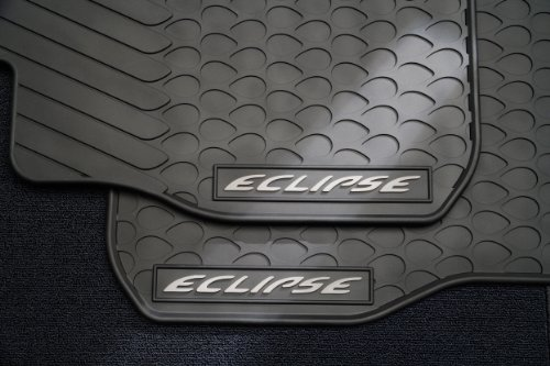 Mitsubishi Front Mat - 2006 - 2012 Mitsubishi Eclipse and Eclipse Spyder All Weather Floor Mats