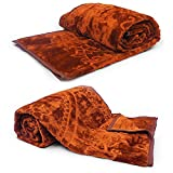 Little India Supersoft Korean Single Bed Embossed Blanket Pair 1092