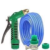 ZLJTYN Household High-Pressure Car Wash Water Gun Suit Household Watering Brush Vehicle Tool Car Washing Device Water Pipe Spray Gun Head,25 Meters