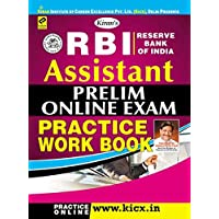 RBI Assistant Prelim Online Exam Practice Work Book (English Medium) - 1804
