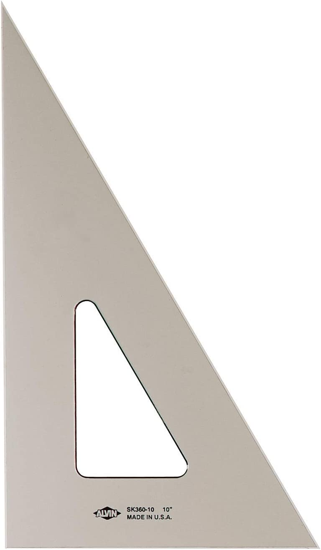 Alvin® SK360-10 Ten Inch Smoke Drafting Triangle