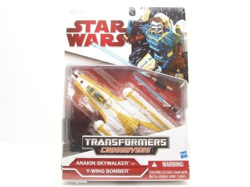 - Star Wars Clone Wars 2009 Transformers Crossovers YWing to Anakin Skywalker