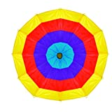 Pacific Play Tents Kids 12-Foot Kaleidochute Parachute for Indoor / Outdoor Fun