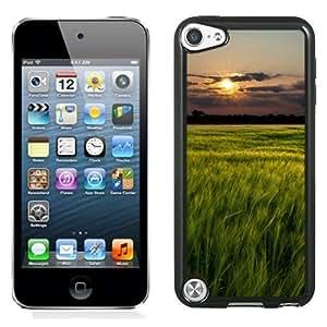 Fashionable Phone Case Sunset Over Grass Field Landscape iPhone 5 Wallpaper.jpg