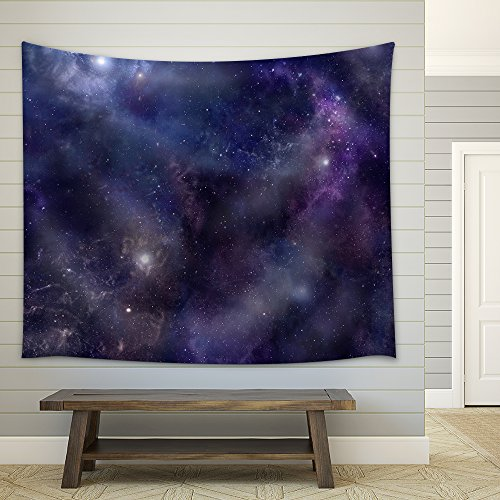 Deep Space wide background website header Fabric Wall