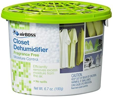 airBOSS Closet Dehumidifier Review