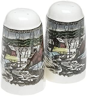 Johnson Brothers Friendly Village Salt And Pepper  sc 1 st  Amazon.com & Amazon.com: Johnson Brothers Friendly Village 28-Piece Set ...