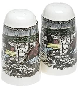 Johnson Brothers Friendly Village Salt And Pepper