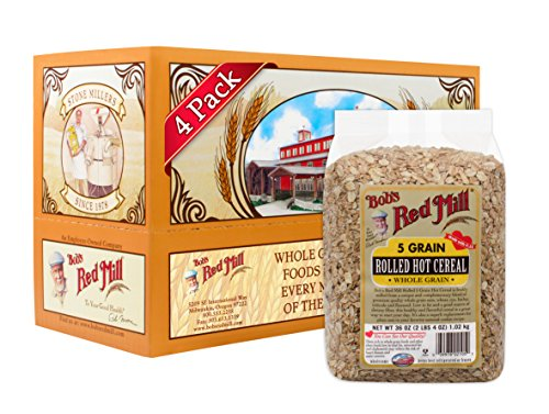 (Bob's Red Mill Cereal 5 Grain Rolled, 36-Ounce (Pack of 4))