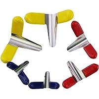 Loboo Idee 10 stks Hangslot Shim Set Lock Pick Assistant Tools Professionele Slotenmaker Tool 6 pcs Multi kleuren