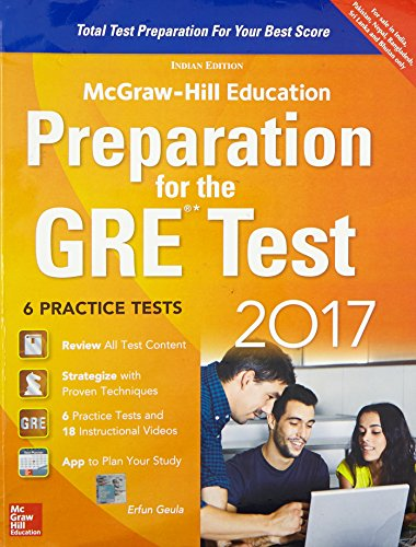 Preparation for the GRE Test 2017
