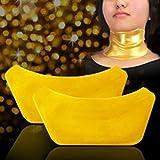 5starwarehouse® Collagen Masks 24k Crystal Gold Anti Wrinkle Ageing - FACE, EYES, LIPS or NECK (3x Neck Masks)