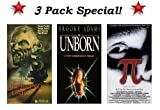 3 Pack Special! PI - Faith in Chaos, The Unborn (Brooke Adams) & The Sleeping Car