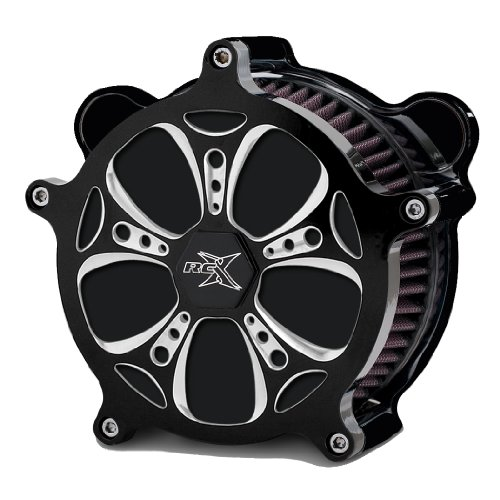 rc-components-airstrike-holeshot-eclipse-air-cleaner-for-2008-newer-harley-davidson-touring-ac-01c-h