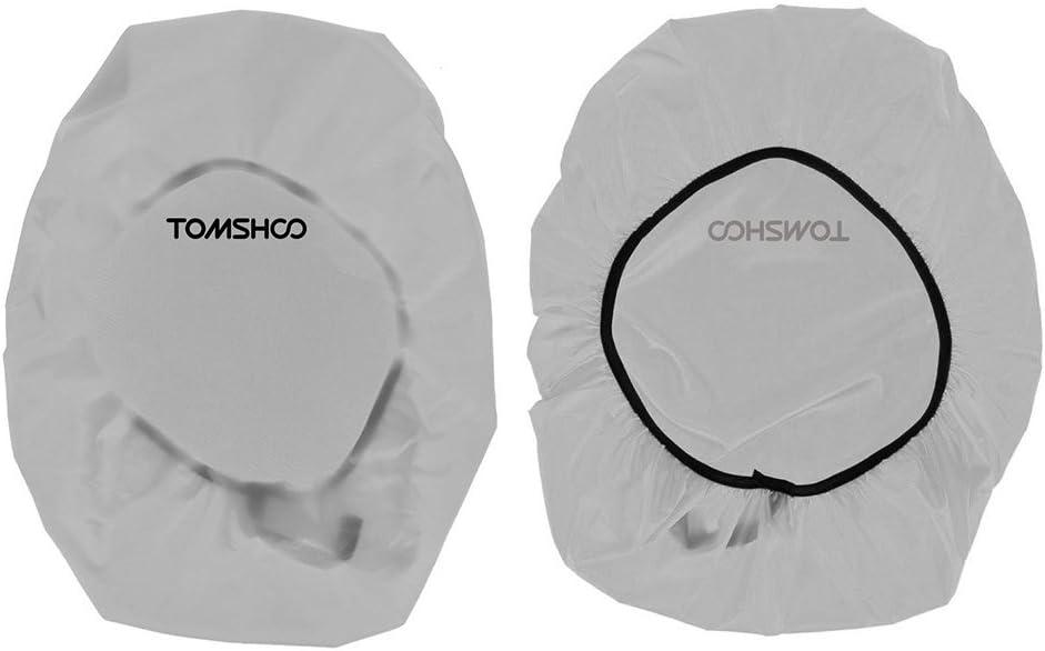 TOMSHOO Cubierta de Lluvia Impermeable para Mochilla 40L-50L para Senderismo Camping Viaje al Aire Libre Verde Negro Naranja Opcional