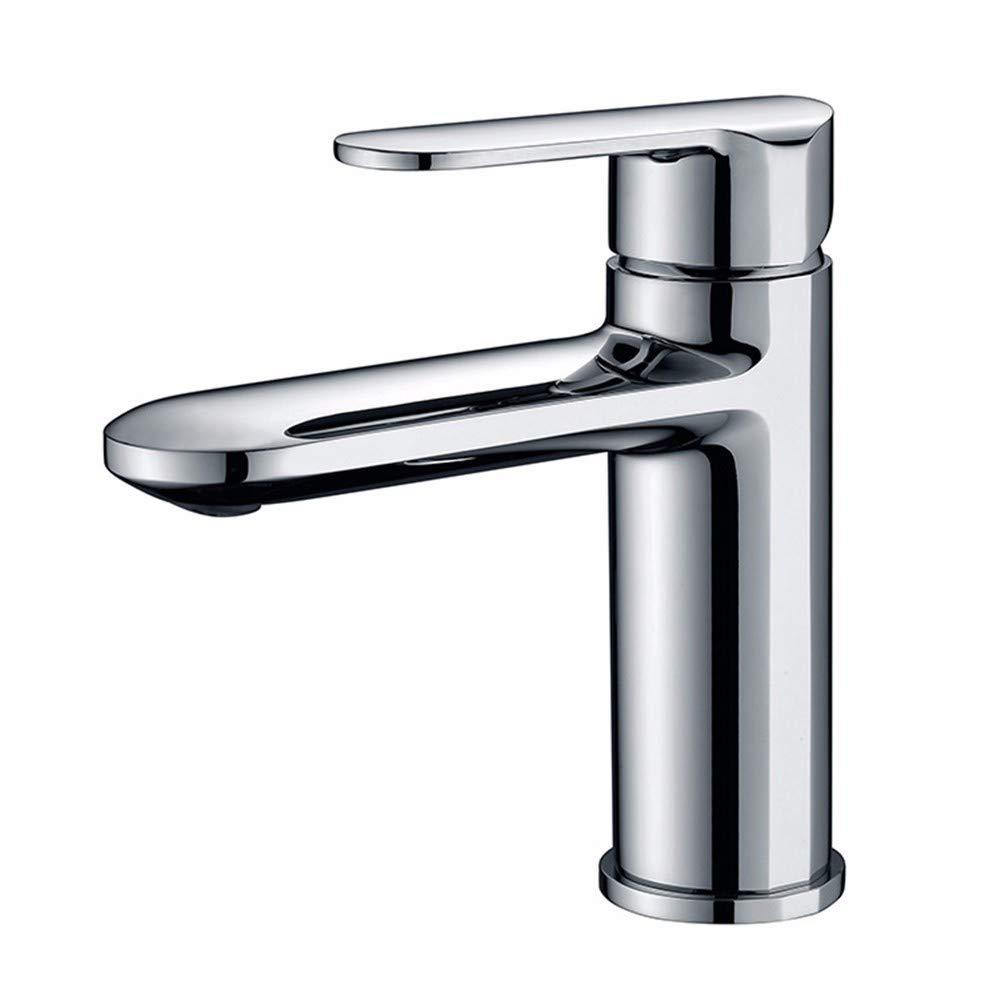 Yuanshuai88-Faucet Faucet copper hot and cold mixed water washbasin mixer