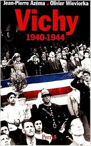 Livres Vichy, 1940-1944 pdf ebook