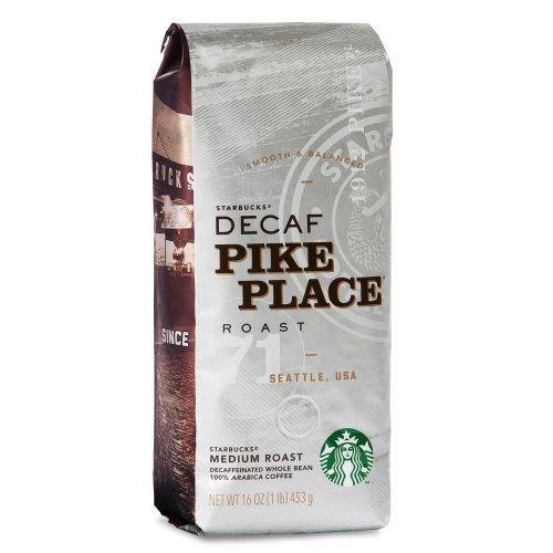 Starbucks Decaf Pike Place® Roast Whole Bean Coffee (1lb)