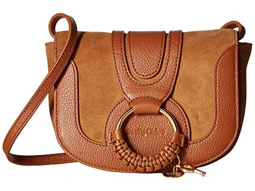 See by Chloe Women's Hana Small Leather Crossbody Bag Caramello One Size