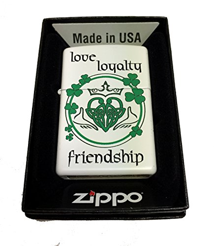 Zippo Custom Lighter Claddagh Friendship product image