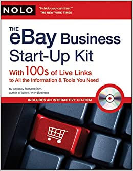 Ebay Business Start Up Kit 100s Of Live Links To All The Information Tools You Need Stim Attorney Richard 9781413308655 Amazon Com Books