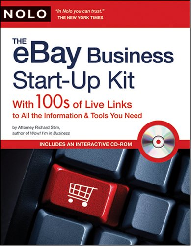 eBay Business Start-Up Kit: 100s of Live Links to All the Information & Tools You Need
