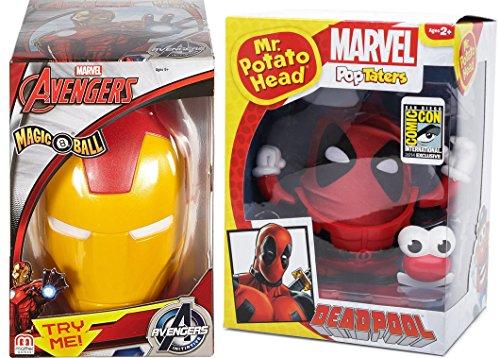 Marvel's Deadpool Comic Con Exclusive PopTaters Mr  Potato Head