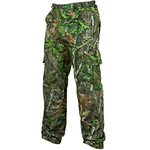 Camo Mens Pants Medium - Mossy Oak Men's Tibbee Technical Lightweight Camo Hunting Pants