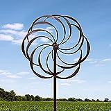 BSD National Supplies Lotus Twirling Garden Windmill