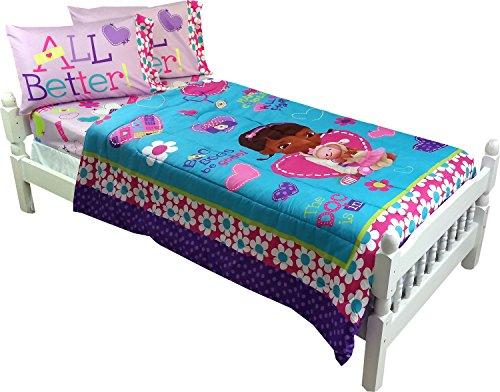 5pc Disney Doc Mcstuffins Full Bedding Set Doctor No More