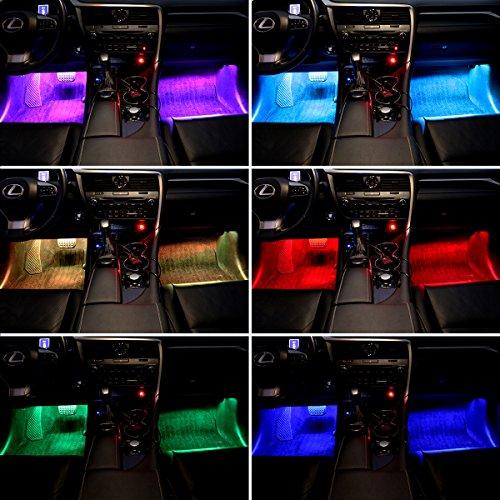 LE-4pcs-LED-Car-Strip-Lights-Kit-Multicolor-Music-Waterproof-Automobile-Underbody-Interior-Decoration-Light-Bars-12V-DC