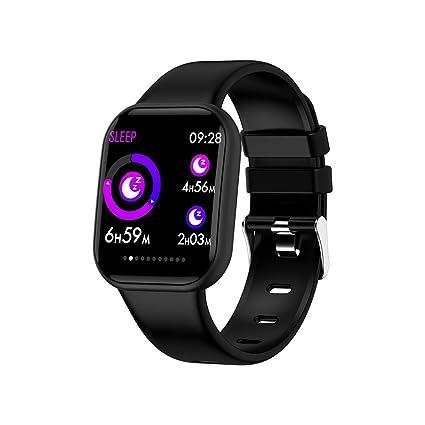 SoloKing Pulsera Actividad con Multi Modes de Ejercicio,Reloj Inteligente Cuenta Pasos,Calorías,Calcula Sueño,Ritmo Cardíaco,Oxígeno en Sangre,Tensión