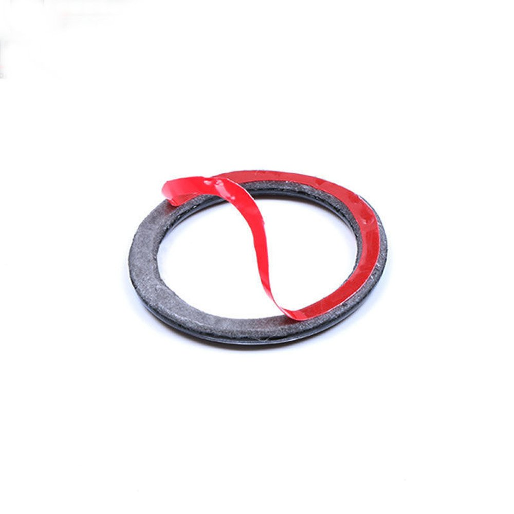 ZXMOTO Car Start Stop Engine Ignition Button Key Ring Decal Trim Carbon Fiber For BMW 3 Series E90 E92 E93 ZXMOTO-CN