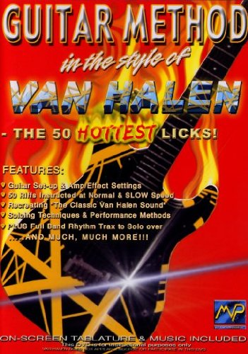 Guitar Method: In the Style of Van Halen - The 50 Hottest Licks! by Music. Video Prod.