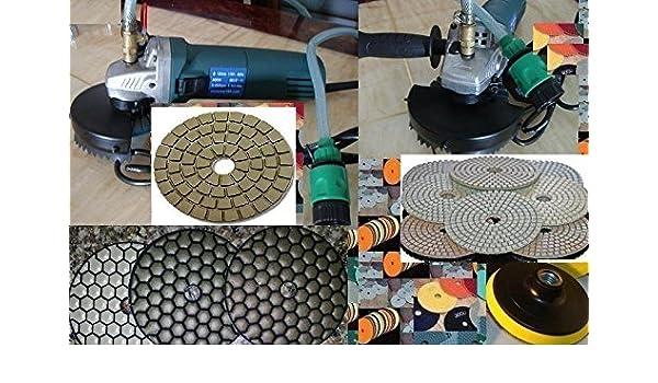 Diamond Polishing Pad Buff 4 inch Wet//Dry 47 PIECE Granite Concrete glass floor