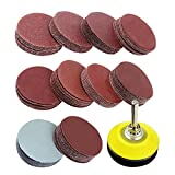 SODIAL 2 inch 100PCS Sanding Discs Pad Kit for Drill Grinder Rotary...