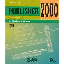 Publisher 2000 pour windoes de base