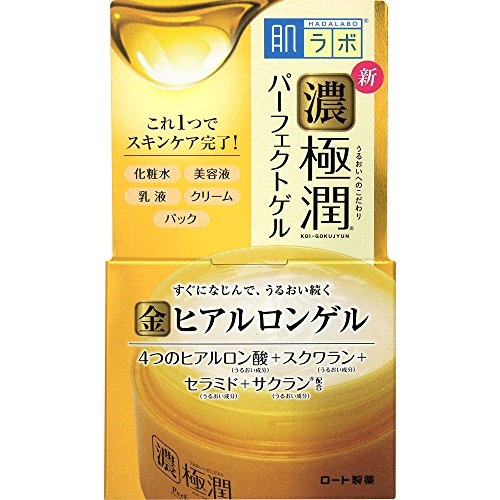HADALABO Gokujyun Hyaluronic Perfect gel 100g (Best Face Cream For Plumping Skin)