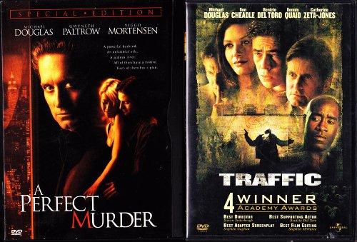Traffic , a Perfect Murder : Michael Douglas 2 Pack