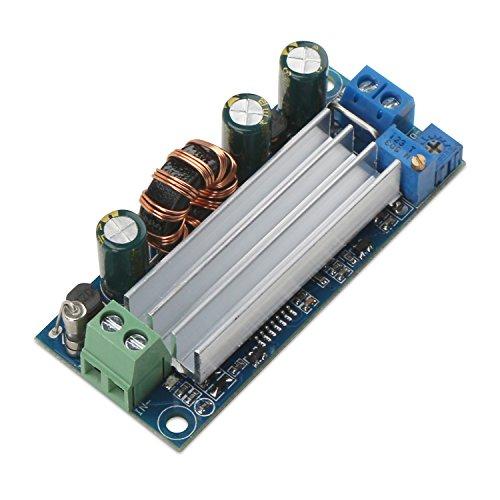 DC-DC Boost Converter, DROK Power Supply Step Up Transformer Module DC 2-14V 5V to DC 3-30V 12V 24V 4A Constant Current Voltage Volt Booster Convert Board